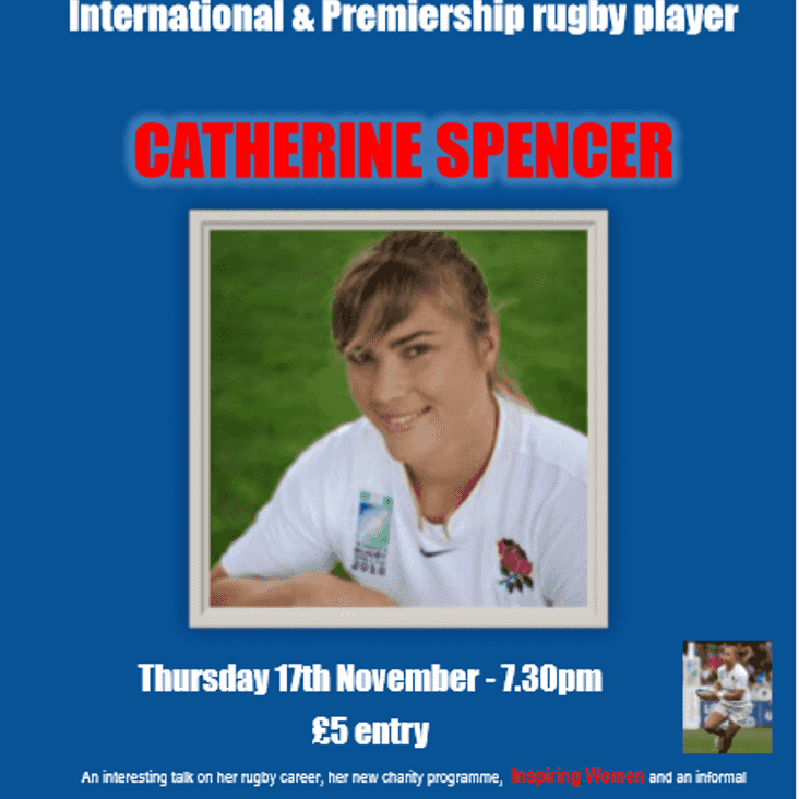 International and Premiership Rugby guest speaker