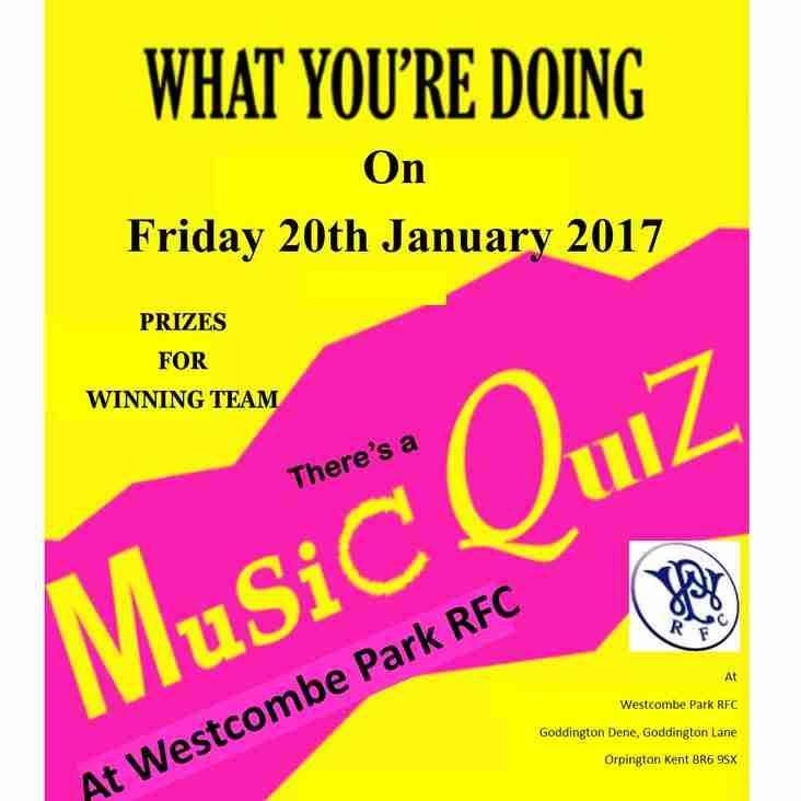 WP Music Quiz Night
