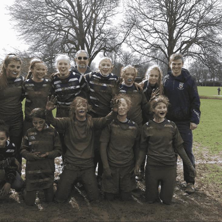 Who said girls dont like getting muddy??