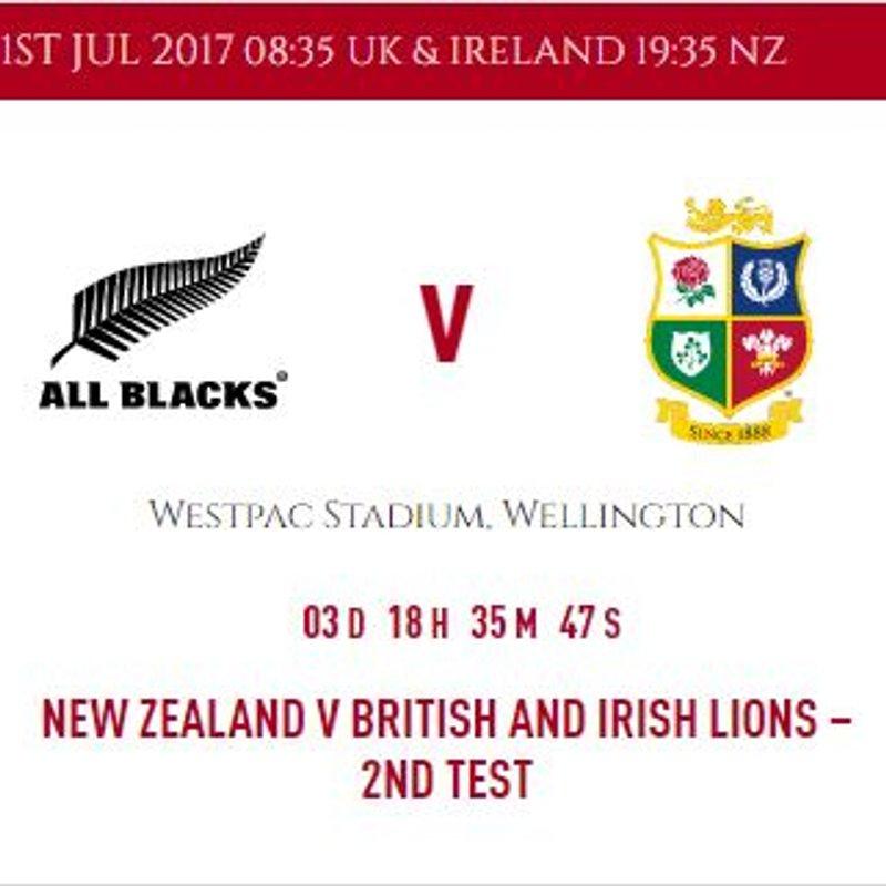 2nd Test British & Irish Lions show at Combe