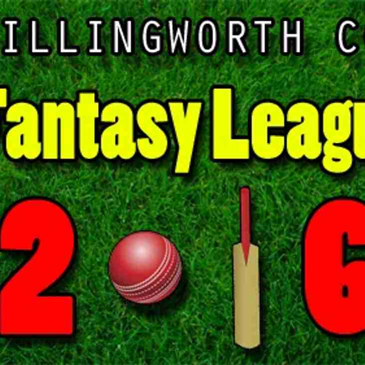 ICC Fantasy League 2016 is here!