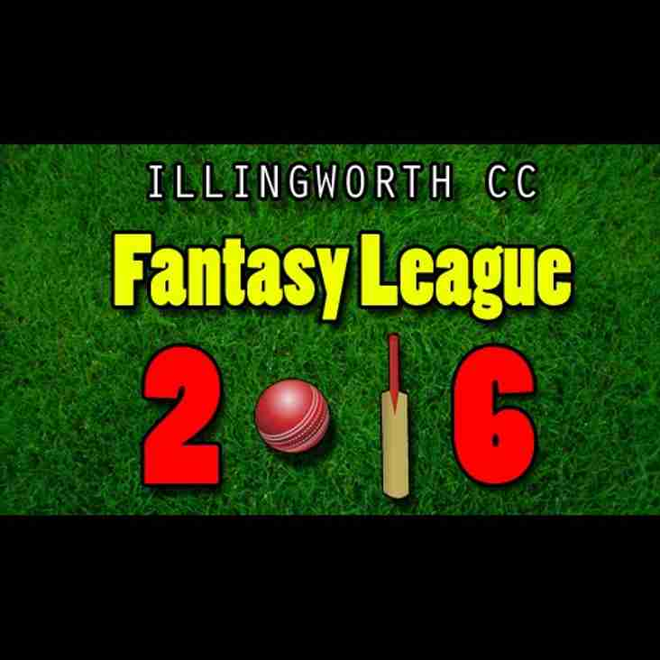 ICC Fantasy League 2016 Final Standings