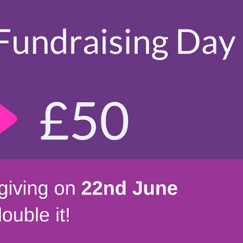 Match Funding/Localgiving - June 22nd