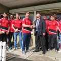 1st XI lift Division Two trophy