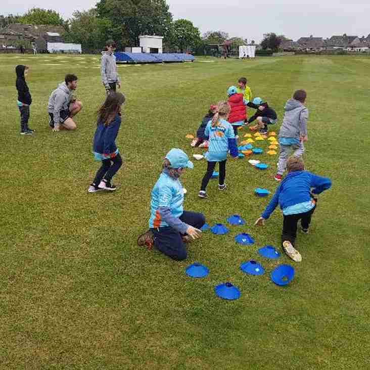 All Stars Cricket gets underway at Illingworth CC