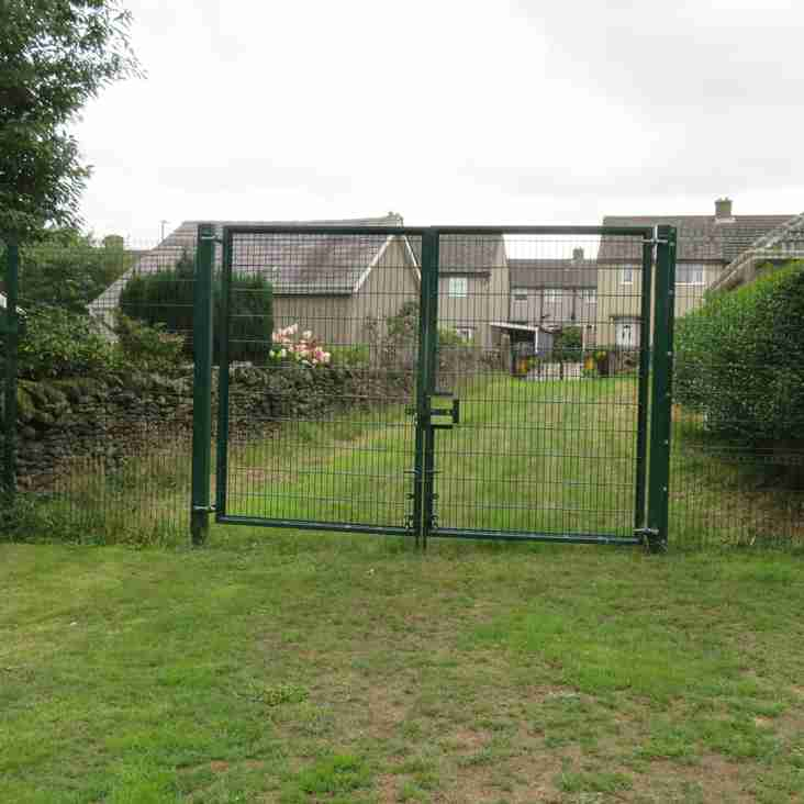 New Fencing and Security Scheme Complete