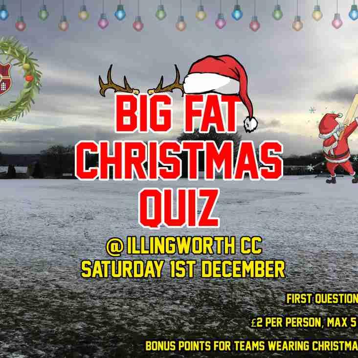 ICC Christmas Quiz - Saturday 1st December