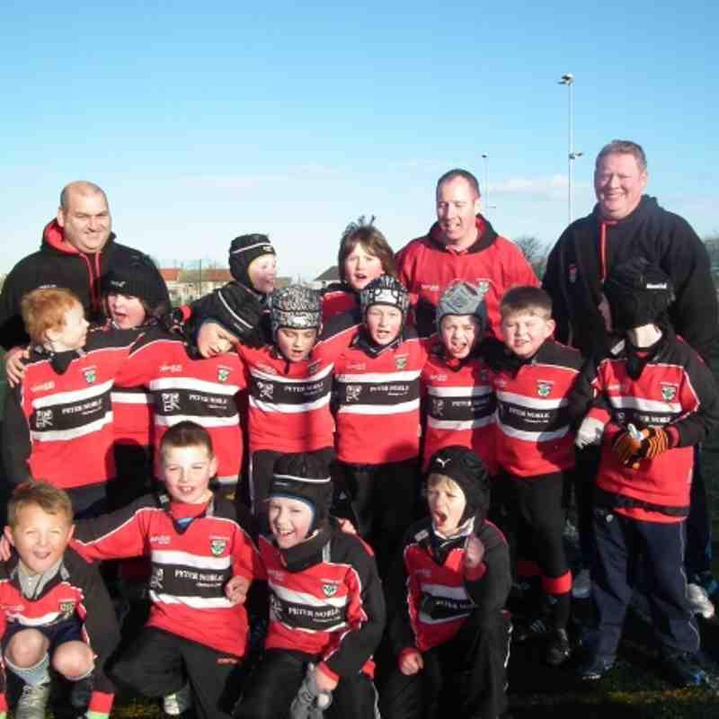 P4 Team V's Musselburgh