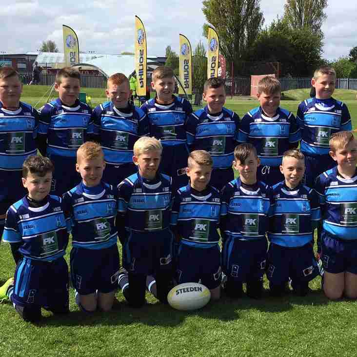Wyke U10's Return from Butlins