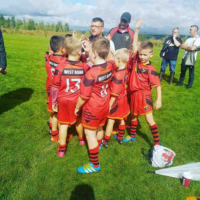 U7 Match report photos