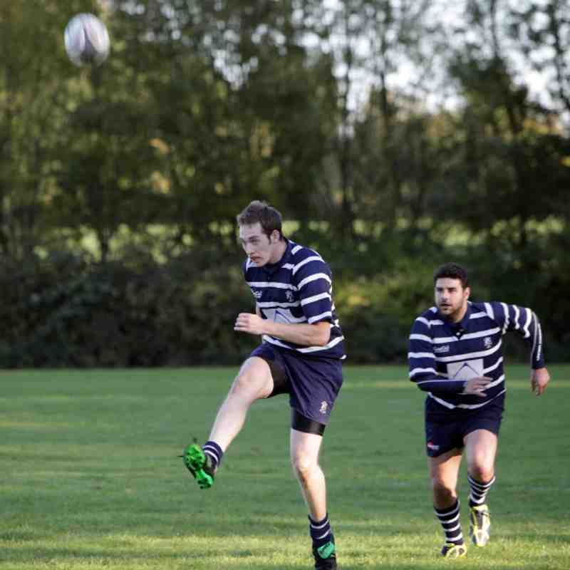 Combe 3s vs Old Elthamians - 15/10/2011
