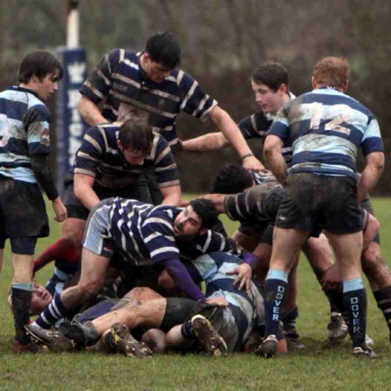 Combe 3s vs Dover - 18 February 2012 - Combe won