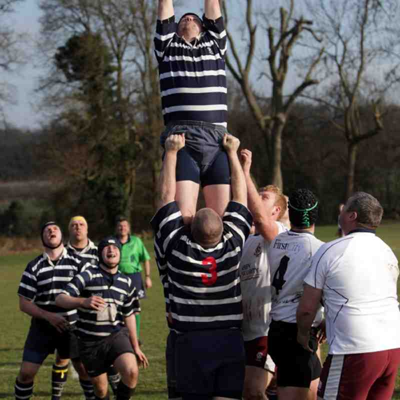 Combe 4s vs Sidcup - 10 March 2012 - Combe won