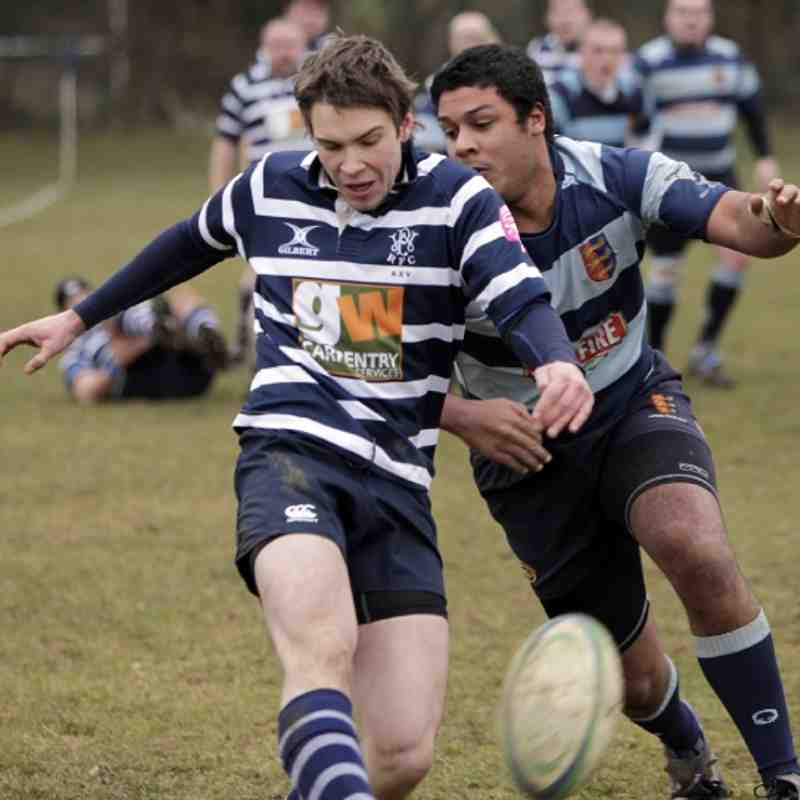 Combe 3s vs Dover - 23 February 2013 - match drawn