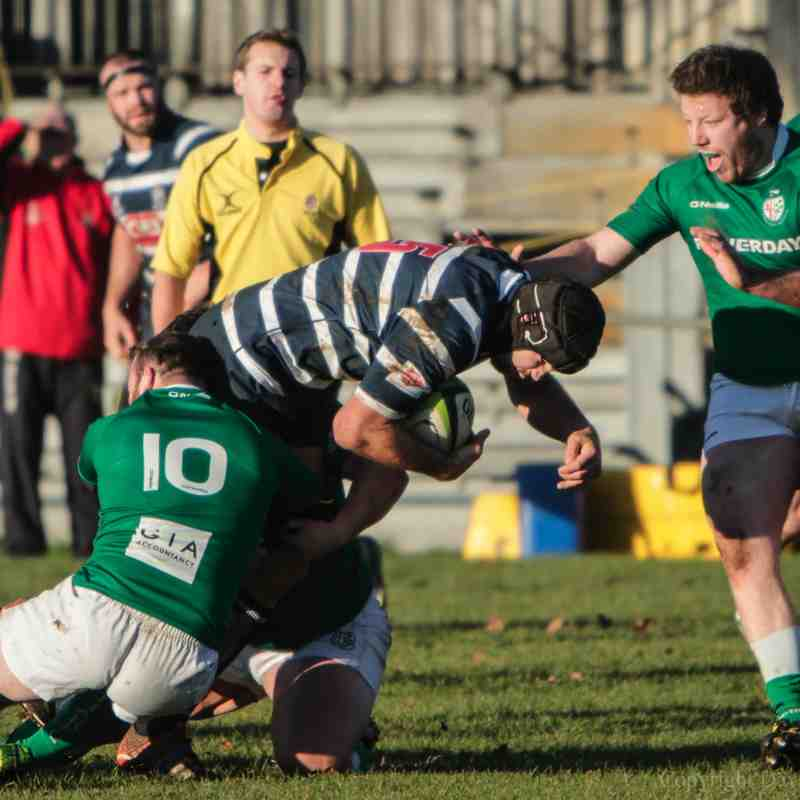 Combe vs London Irish Wild Geese, 6 December 2014
