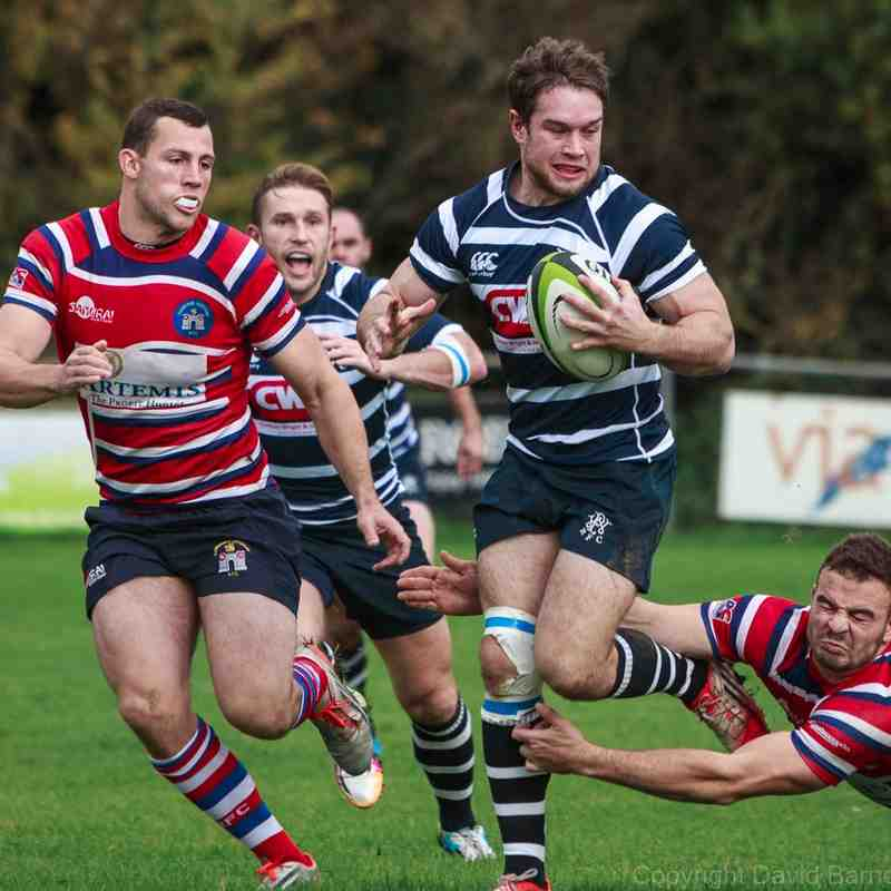 Combe vs TJs - 24 October 2015
