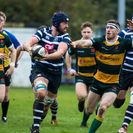 Barnes  get a bonus point win while denying Combe a bonus of their own
