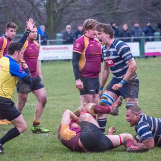 Combe win tussle with Towcester – just.