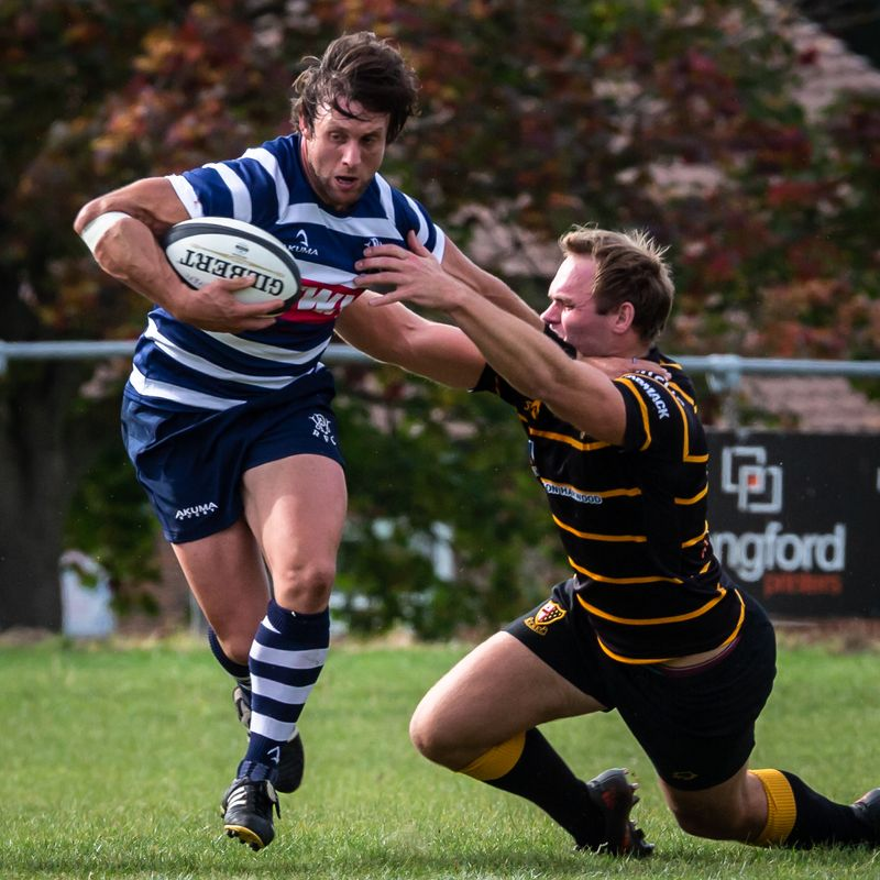 Combe get the better of a free running London Cornish side