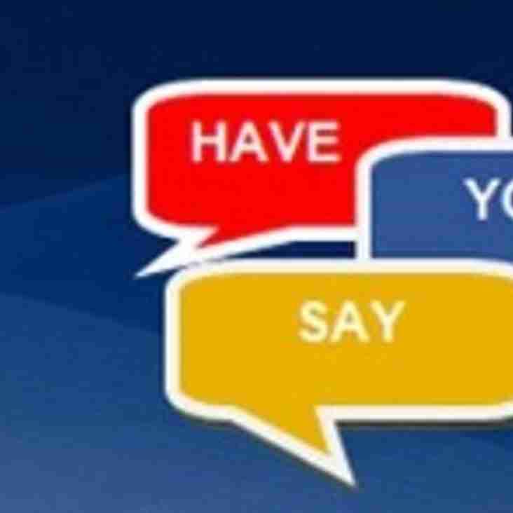 Player Survey - Closes 13 April 2014