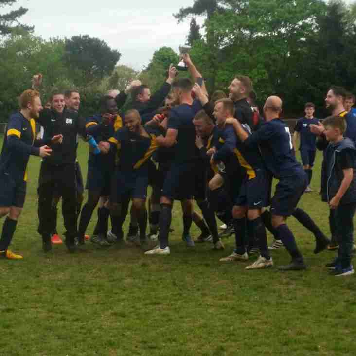 Iver Heath Rovers Win EBFL League Cup!!!