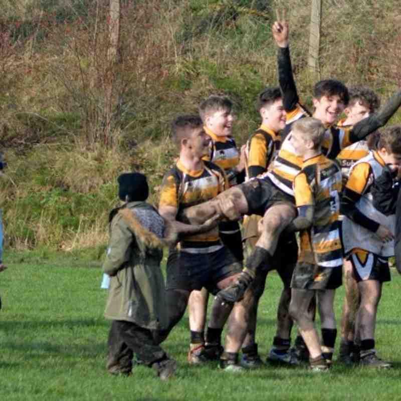 U 14's v  Dewsbury Moor  Yorks Cup Semi