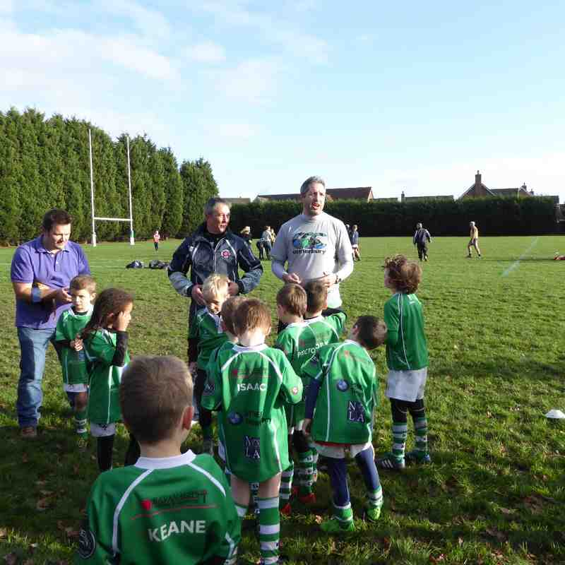 U7's Training 20th Dec 2015