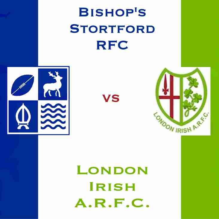 1st XV against London Irish A.R.F.C Wild Geese Match Centre