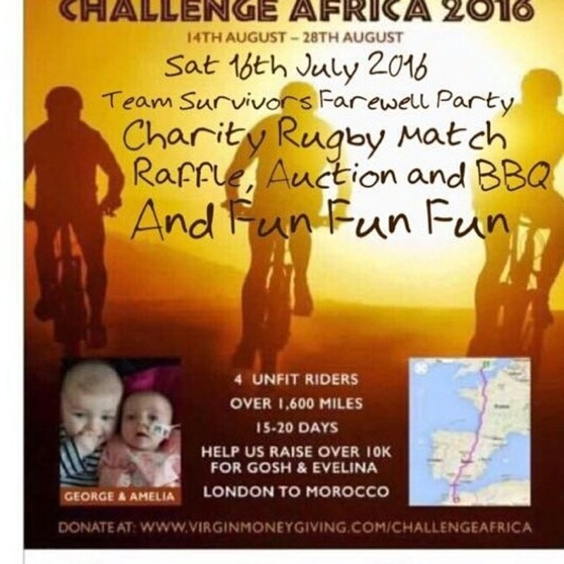 Charity Fundraiser for Challange Africa