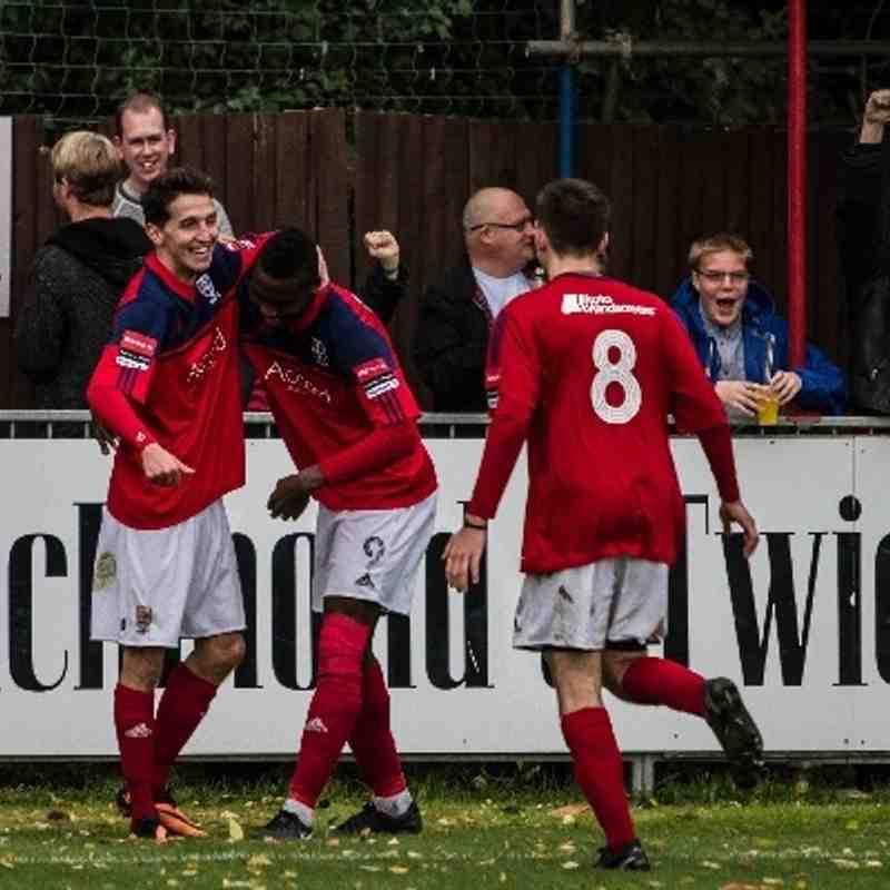 Hampton & Richmond Borough FC 5-1 Arlesey Town FC