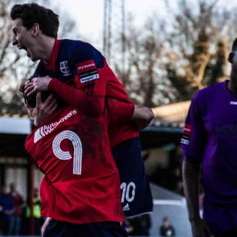 Hampton & Richmond Borough FC 4-0 Carshalton Athletic FC