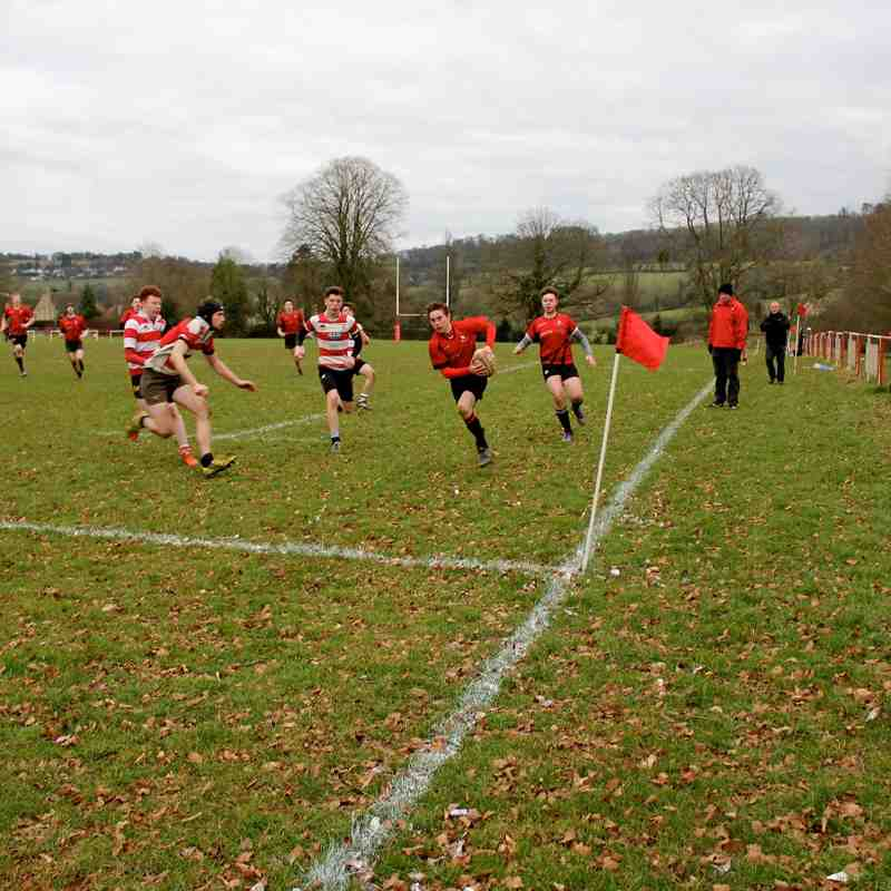 U18s v Painswick 28th Feb 2016