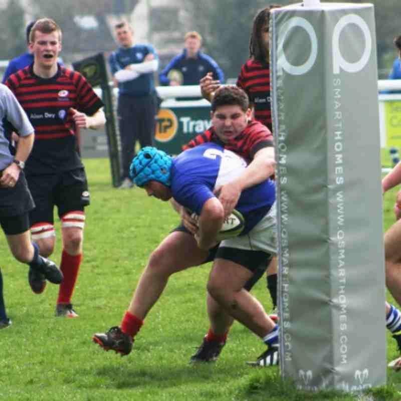 U17's Vs Saracens - March 2014