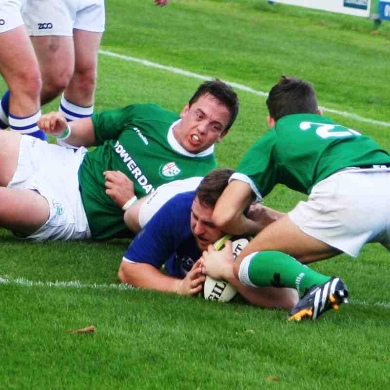 Blues vs London Irish Wanderers Oct 2014