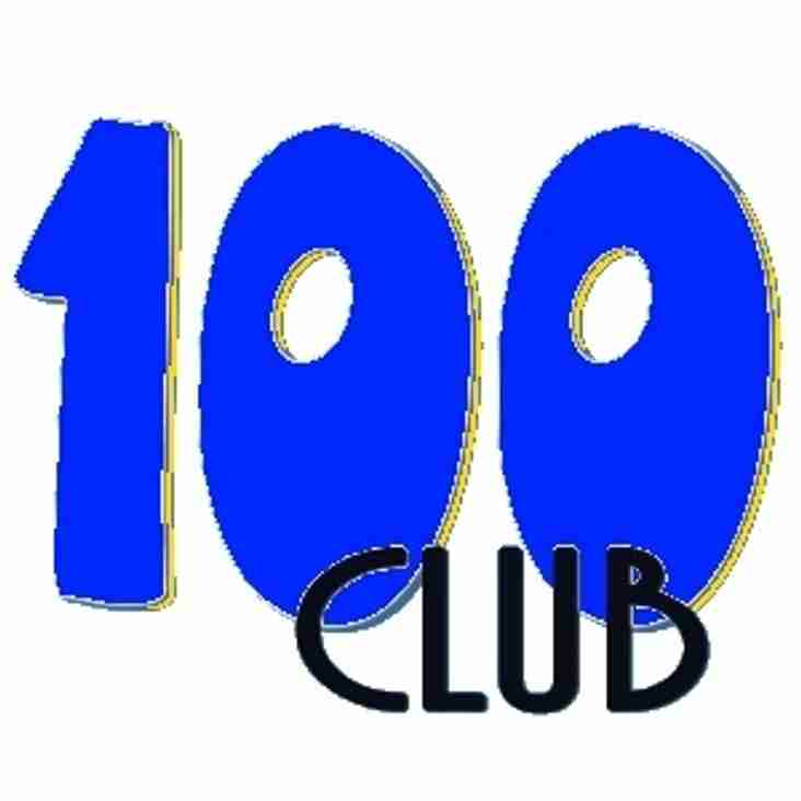 100 Club winner and call for new members