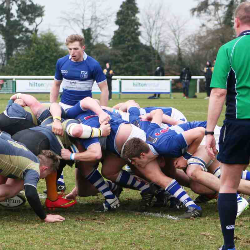 Blues vs Letchworth Mar 15