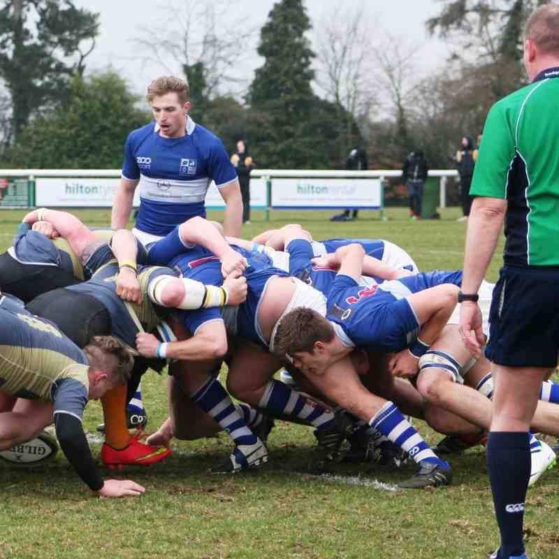 Blues vs Letchworth Mar 15