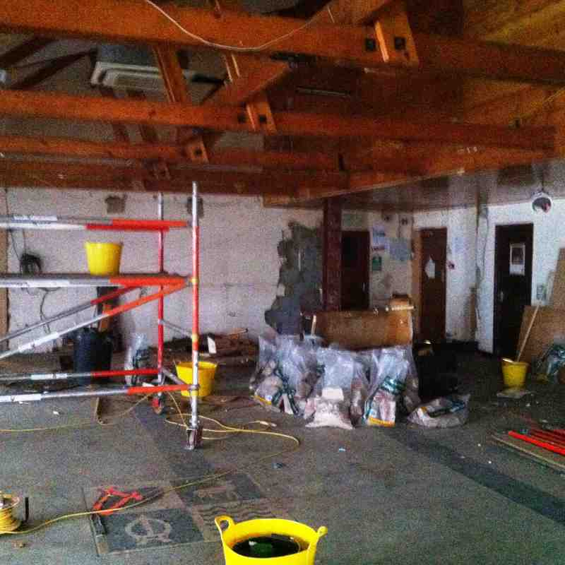 Clubhouse Redevelopment Summer 2015