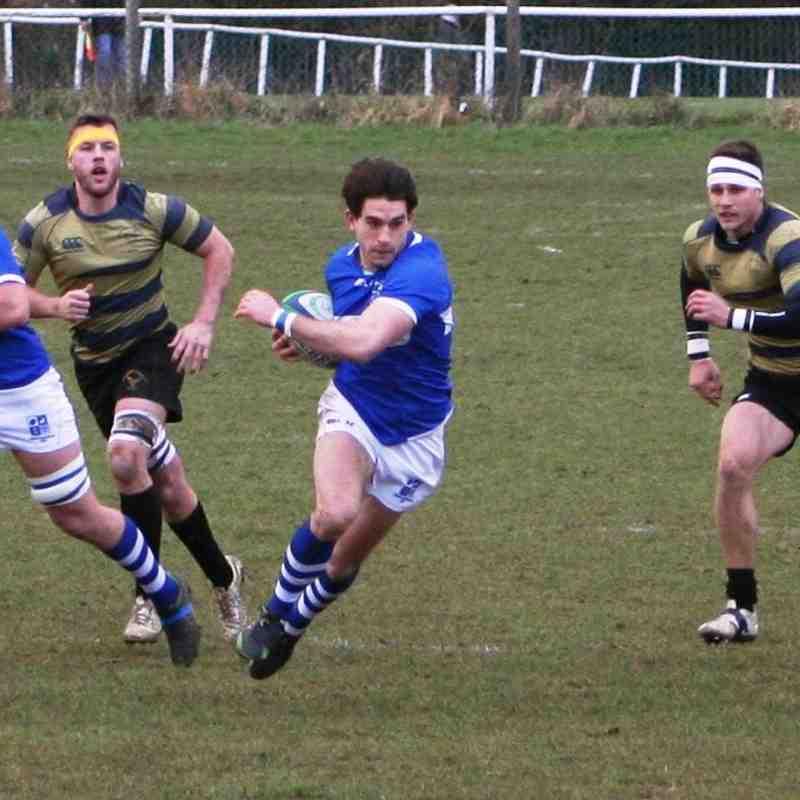 Blues vs Letchworth Feb 2016