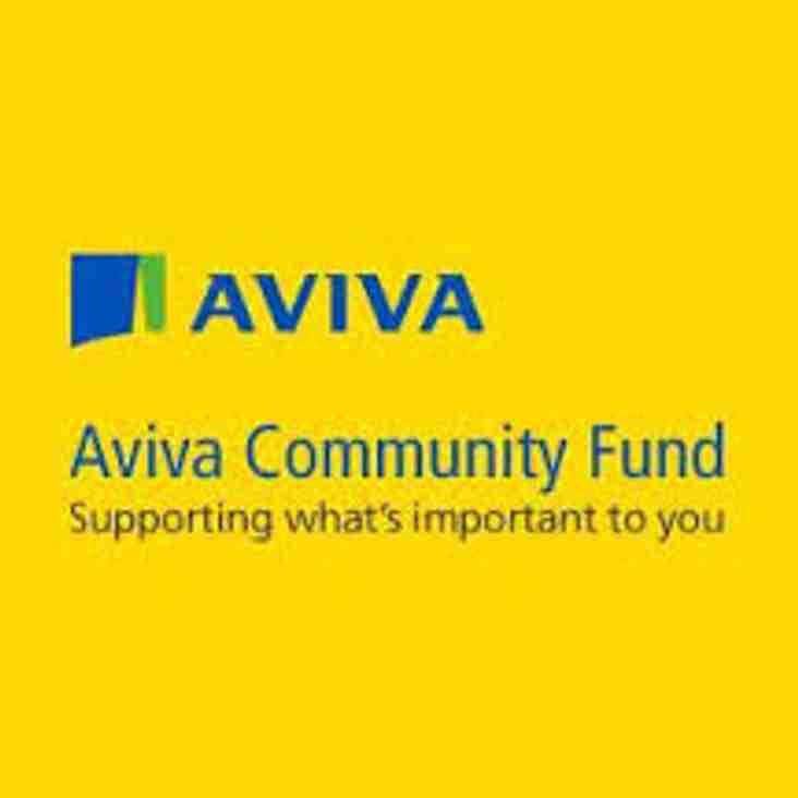 Aviva Community Fund - Winner!