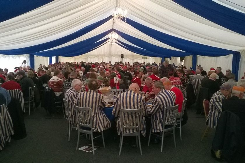 Bookings for 1st XV Pre match lunches now being taken