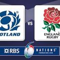 Scotland vs England on the big screen on Saturday evening