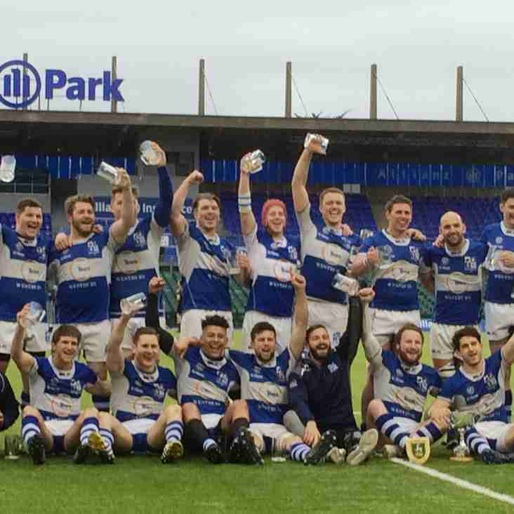 Blues win County Cup - Official Photos