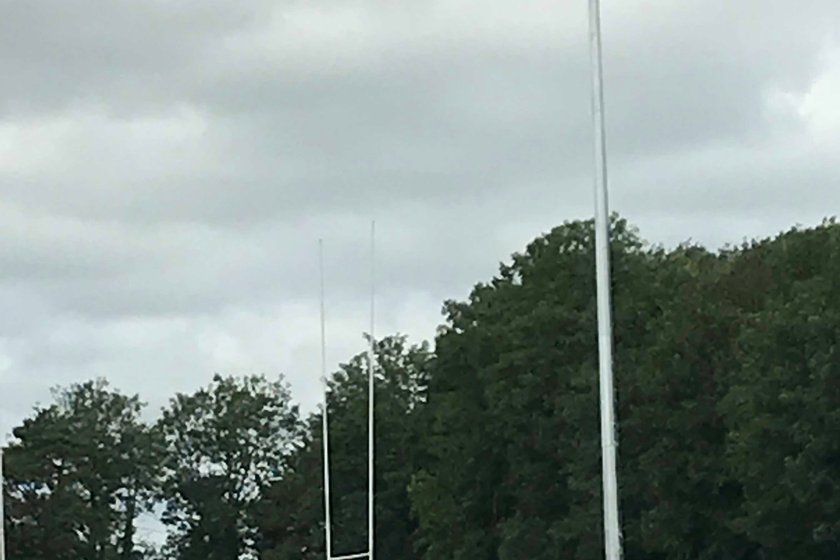 New Floodlights installed on Pitch One