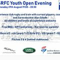 Youth Open Evening