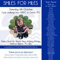 Smiles for Miles - Thank You from organiser Julie North
