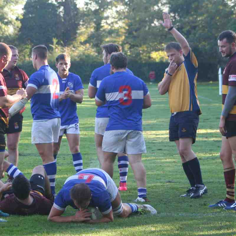 Mitres vs Ampthill October 20 2018