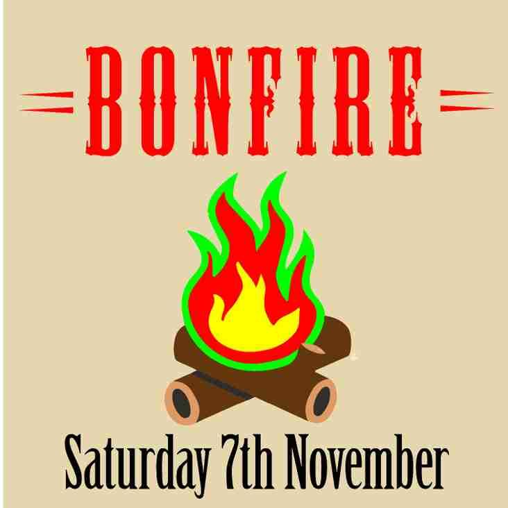 Bonfire Night - 7th November