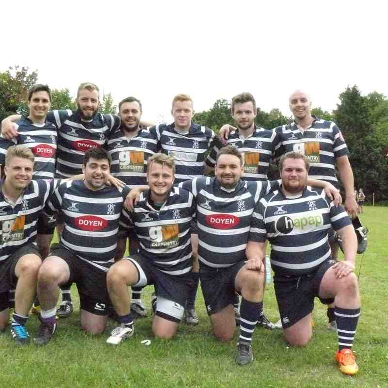 WPRFC Wombats semi finalists team photo