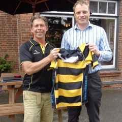 Hinckley sign All Black Scott Hamilton